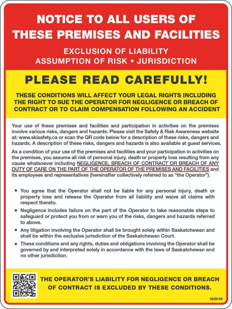 Exclusion of Liability 2020